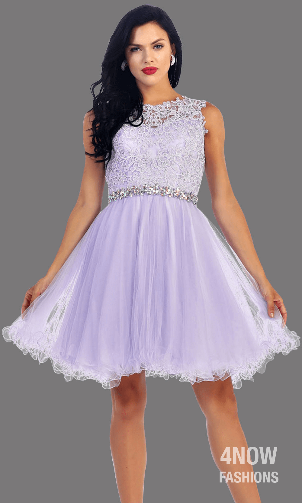 Puffy Tulle Dress - SAMANTHA
