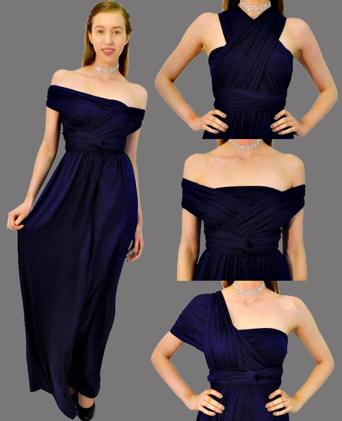Infinity Dress in Navy