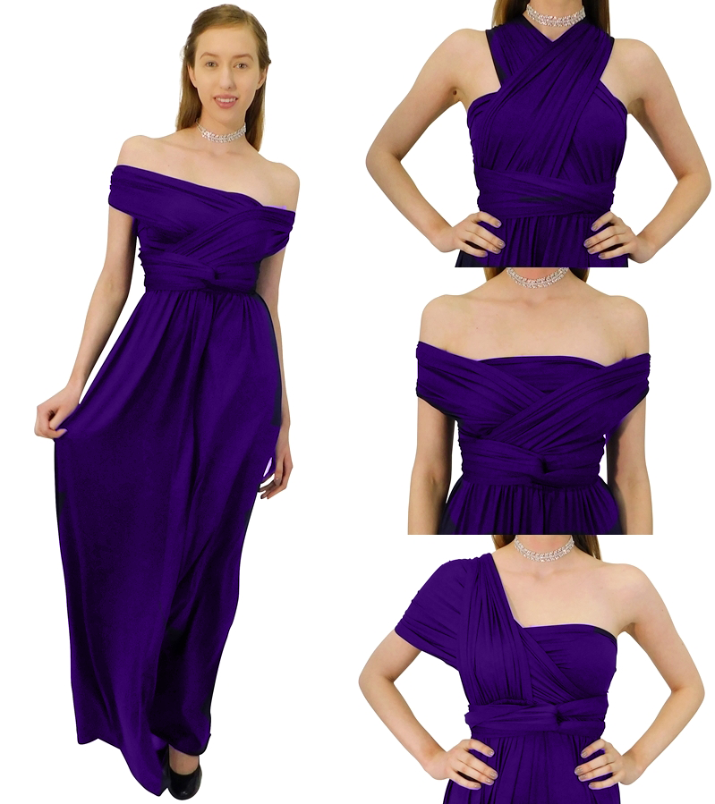 Infinity purple dress pictures