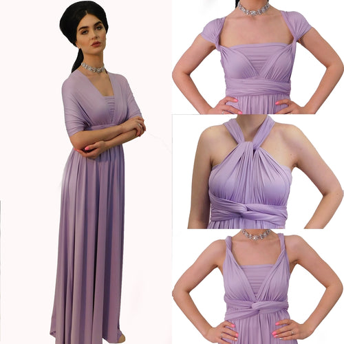 Infinity Dress in Lilac