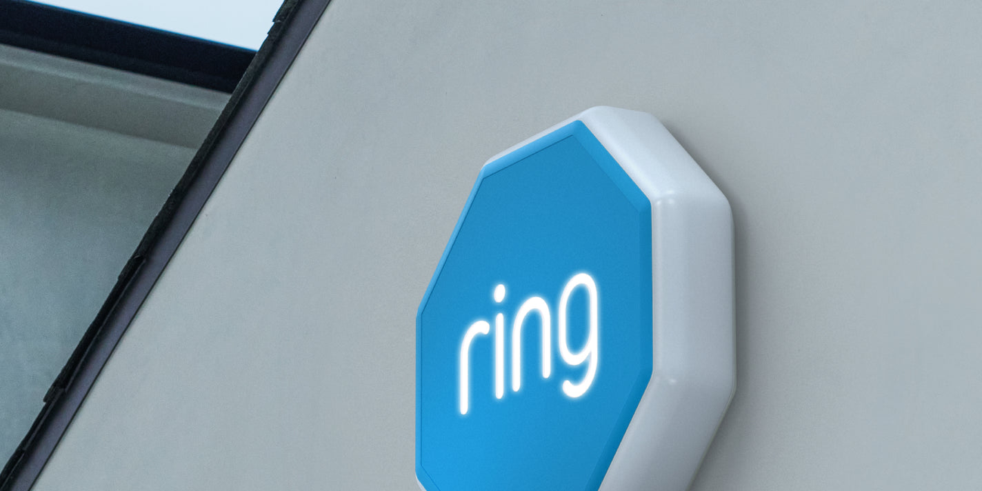 Peace of Mind — Inside and Out – With Ring Alarm Outdoor Siren.