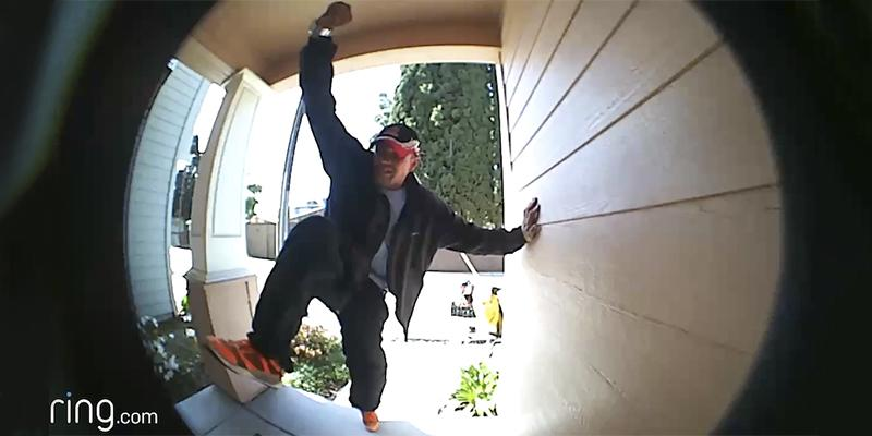 Watch These Would-Be Burglars Get Stopped in Their Tracks by Ring