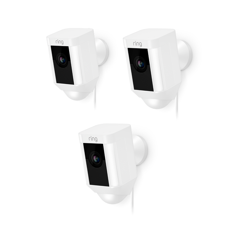 3-Pack Spotlight Cam Wired