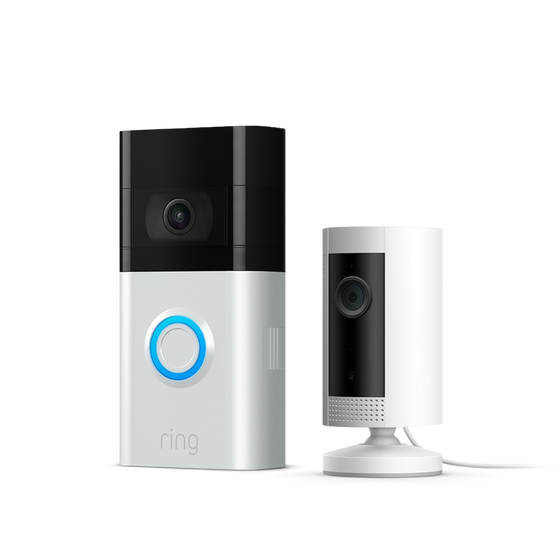 Ring - Video Doorbell 3 + Indoor Cam