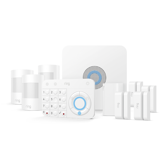 Ring - Alarm Security Kit (for 10 piece)