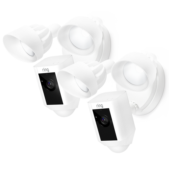 Ring - 2-Pack Floodlight Cams