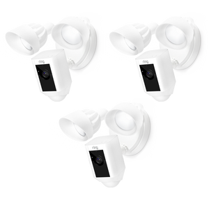 3-Pack Floodlight Cams