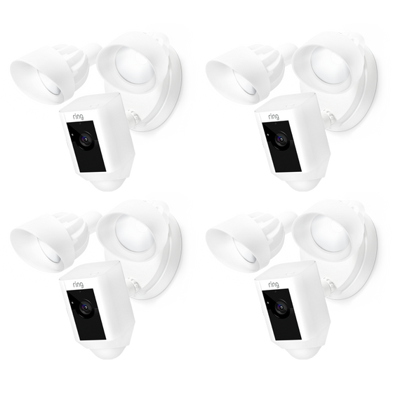 Ring - 4-Pack Floodlight Cams