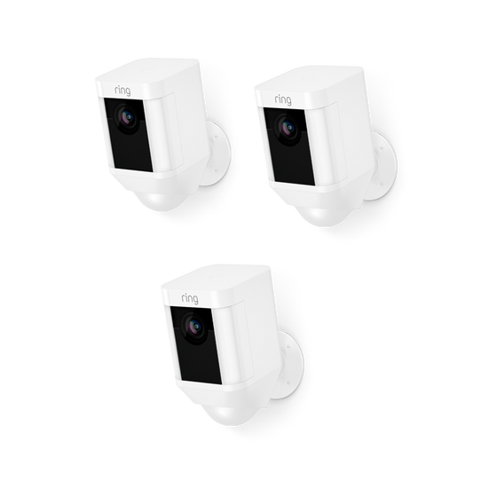 Ring - 3-Pack Spotlight Cam Battery