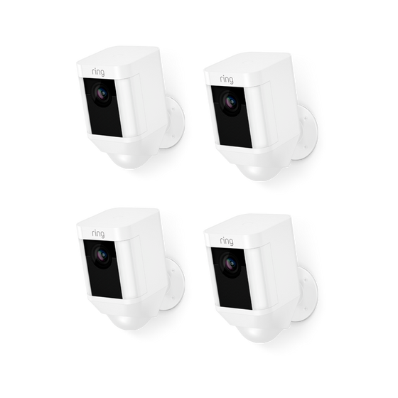 Ring - 4-Pack Spotlight Cam Battery