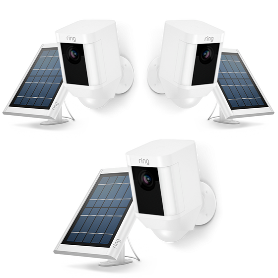 Ring - 3-Pack Spotlight Cam Solar