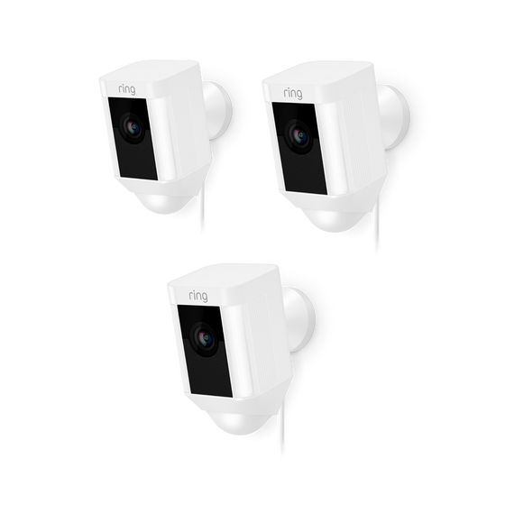 Ring - 3-Pack Spotlight Cam Wired