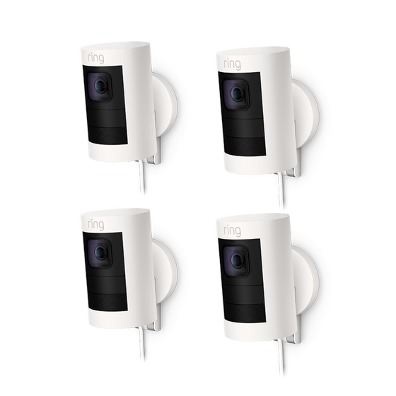 Ring - 4-Pack Stick Up Cam Elite