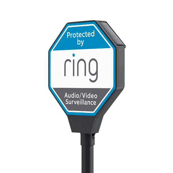 Ring - Solar Security Sign