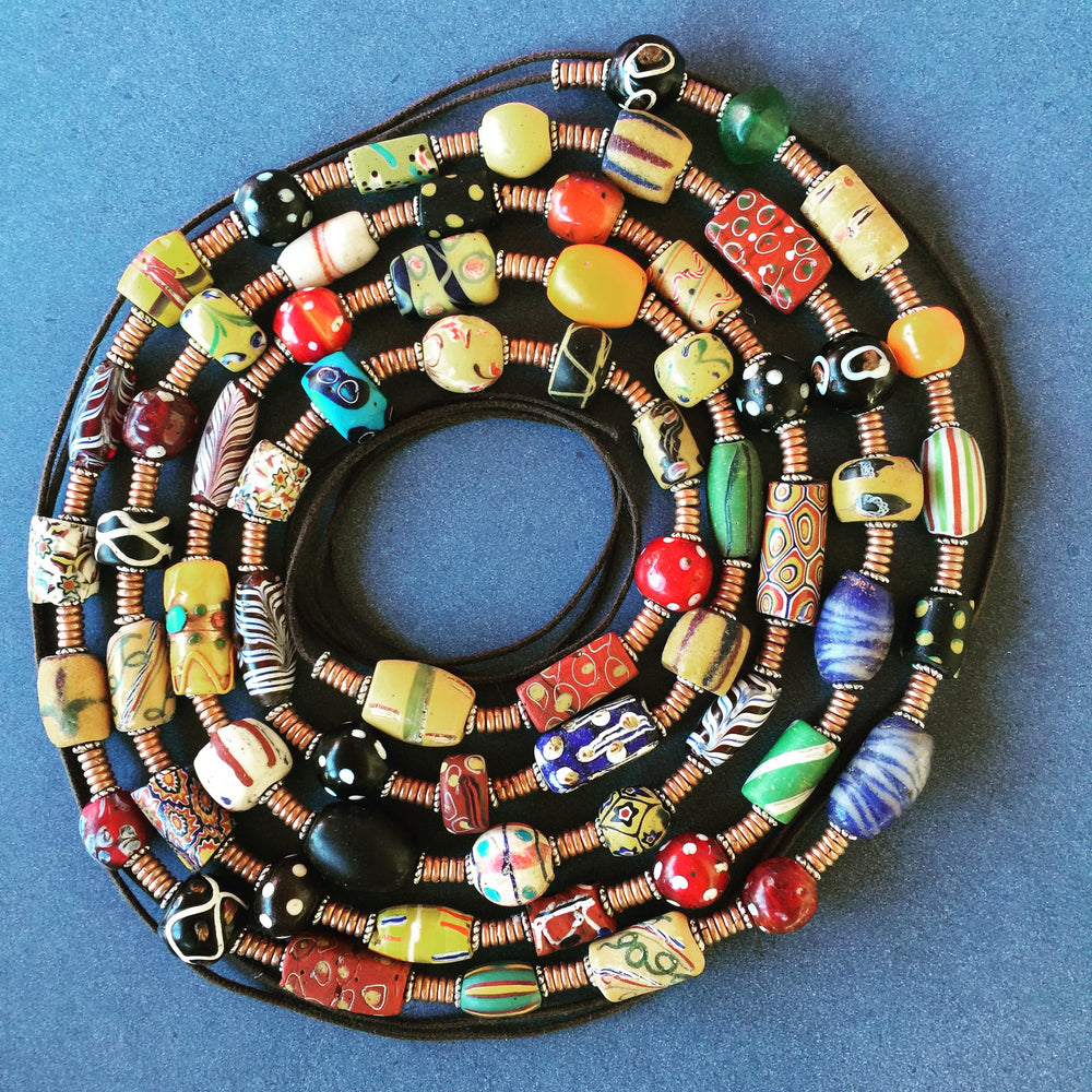 African Trade Bead Jewelry Musings