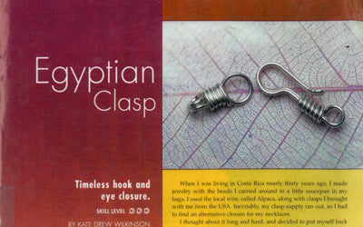 How to Make an Egyptian Clasp - Video