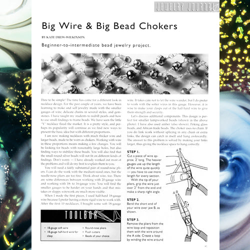 Big Wire & Big Bead Chokers - PDF Ebook