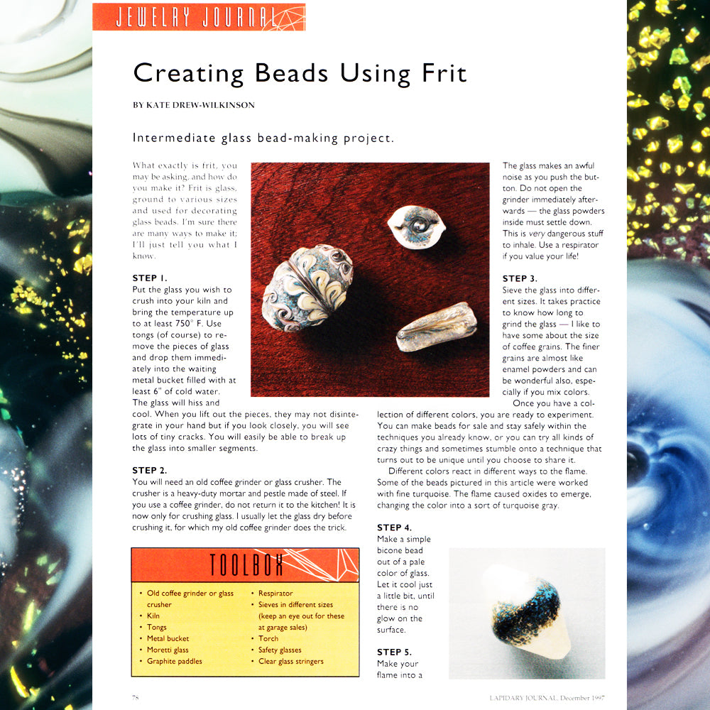 Creating Beads Using Frit - PDF eBook