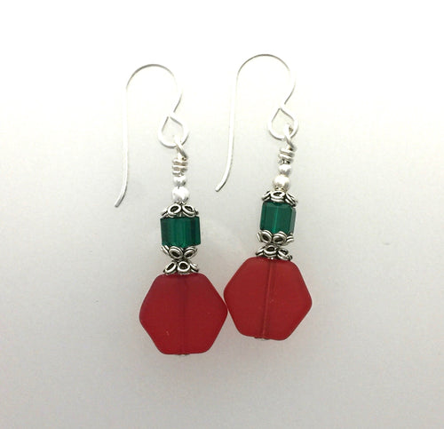 Czech Trade Bead Earrings