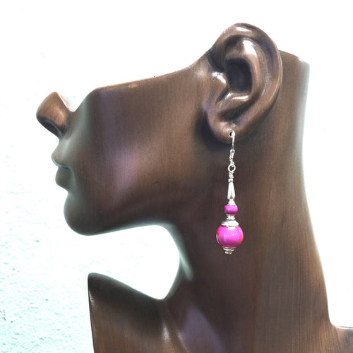 Rose Colored Earrings Color Changing Too!