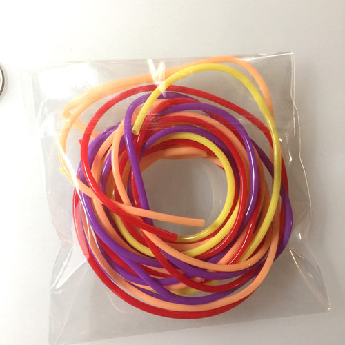Plastic Tubing for Stabilizing the Center of Glass Beads | Supplies-