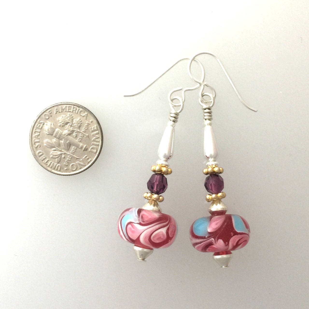 enamel pair diamonds a wire with of earrings work and image set