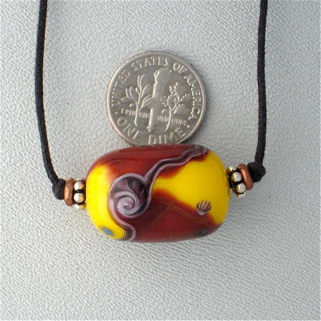 Lampwork Necklace by Kate