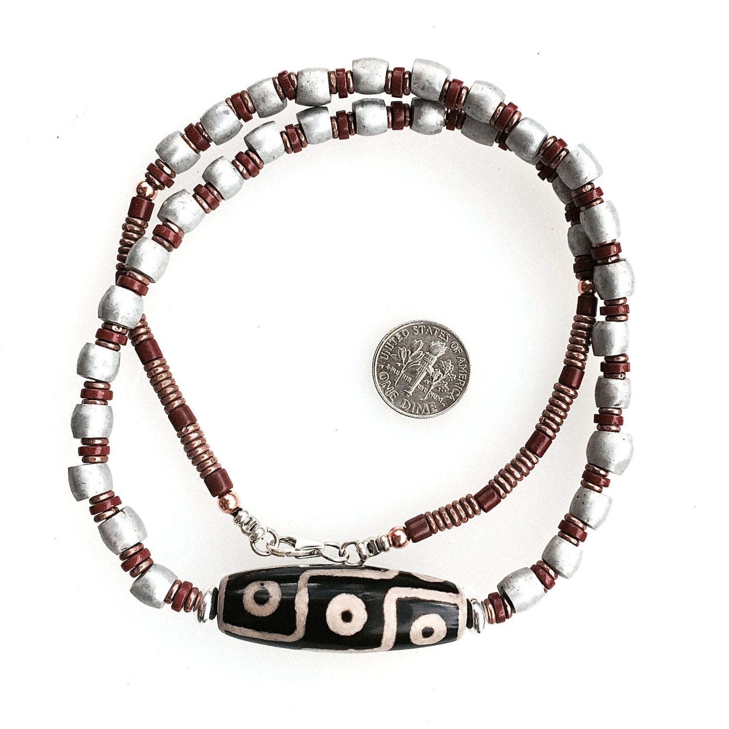 moja clay aina nec mojaaina product bead trade necklace