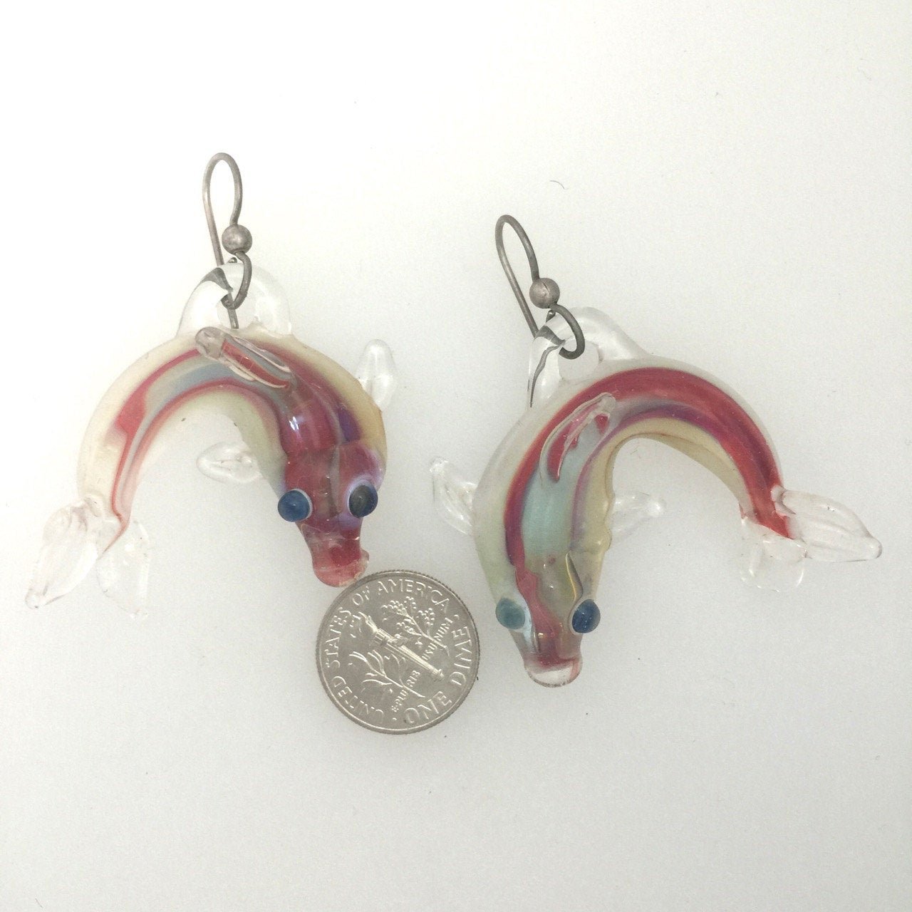 Fish Boro Earrings Jim Smircich