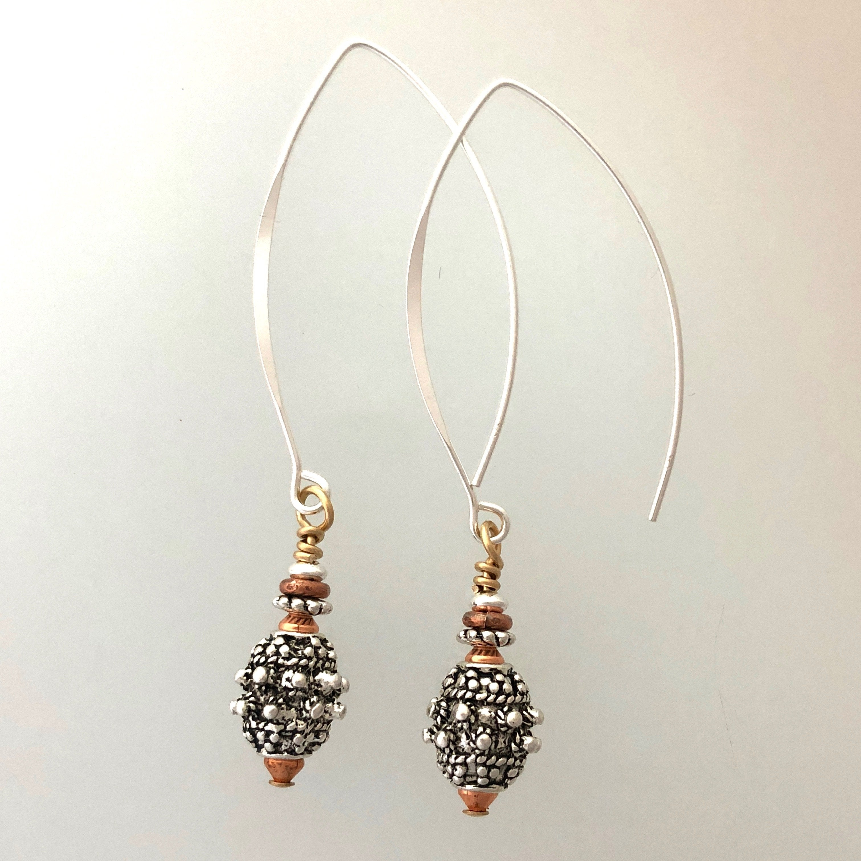 bisbee collection earrings large hooks