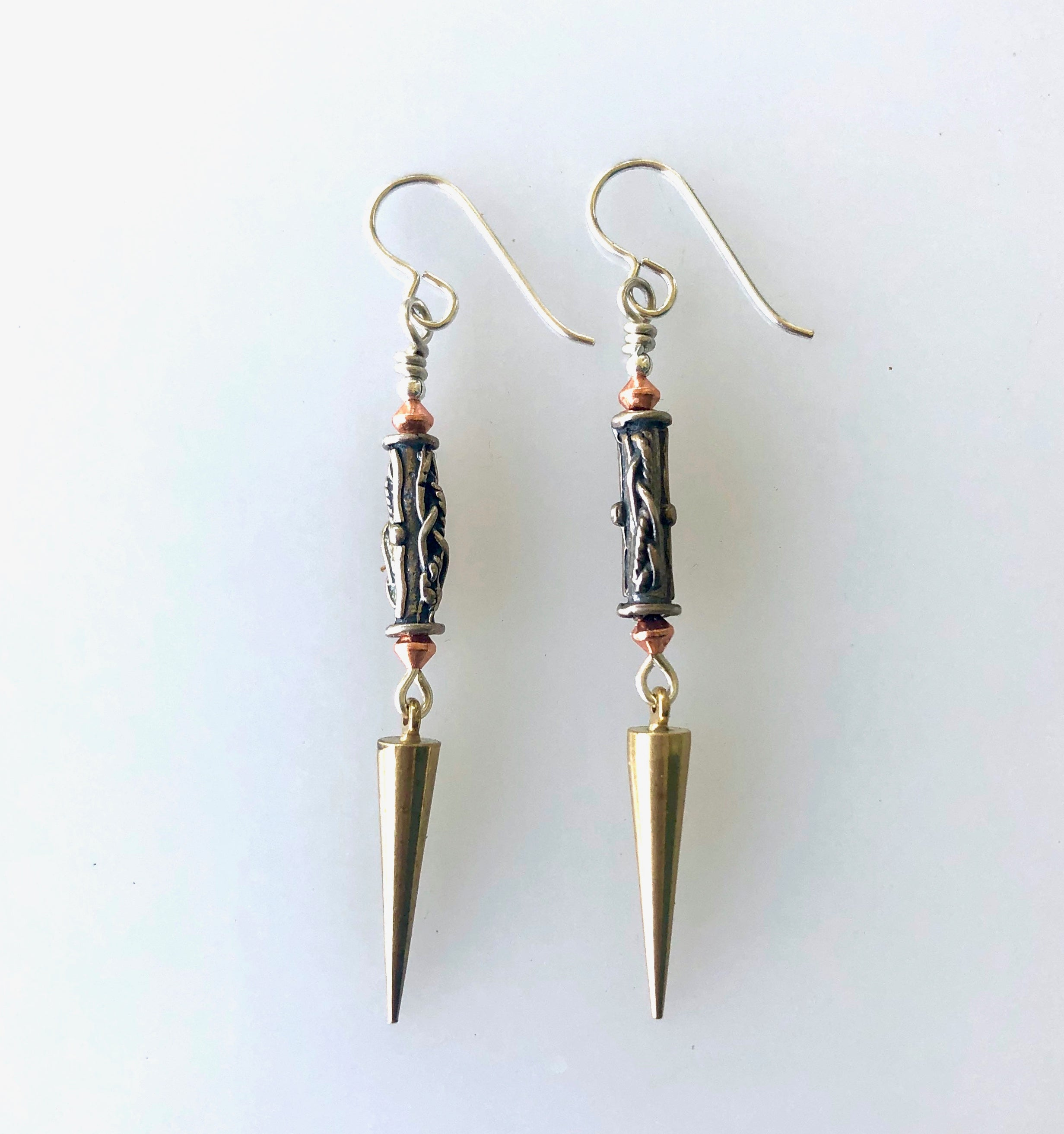 Dangle Earrings with Israeli and French Findings