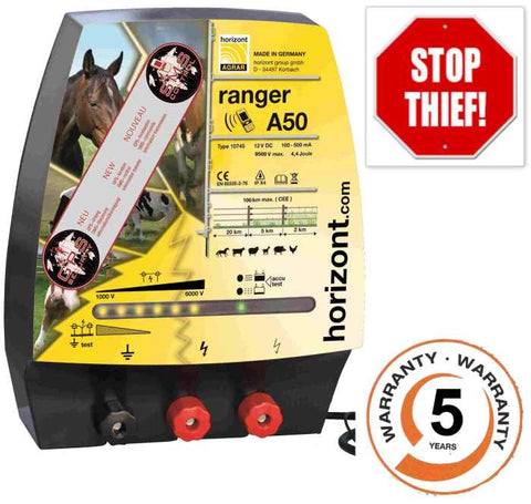 Anti-Theft Electric Fencing Energiser