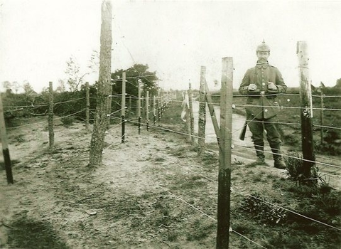 German WWi fence