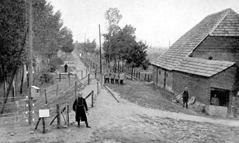 German WW1 fence
