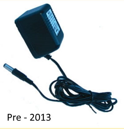 Mains adapter for an older electric fence energiser