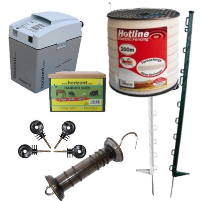Starter Kit for Horse Electric Fence