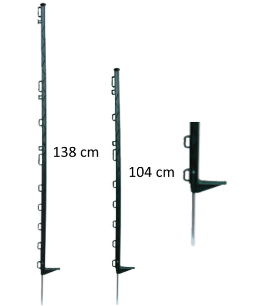 cheap green electric fence posts from agrisellex the specialists