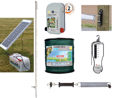Solar Electric Fencing Kit for Horses
