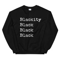 Blackity Black Sweatshirt