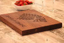 Load image into Gallery viewer, Game of Thrones Cutting Board - The Greatest Game of Thrones Gift!