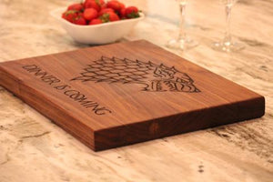 Game of Thrones Cutting Board - The Greatest Game of Thrones Gift!
