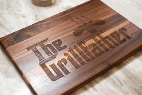 Grillfather Cutting Board, Godfather Inspired Cutting Board
