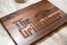 Load image into Gallery viewer, Grillfather Cutting Board, Godfather Inspired Cutting Board