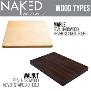 Personalized Cutting Board, Housewarming Gift, New Homeowner Gifts, Custom Cutting Board, Real Estate Advertising -Naked Wood Works