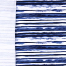 French Terry Painted Stripes Rückseite