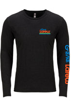 Gene Larew Black Long Sleeve Logo Tee