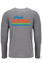 Gene Larew Heather Long Sleeve Logo Tee