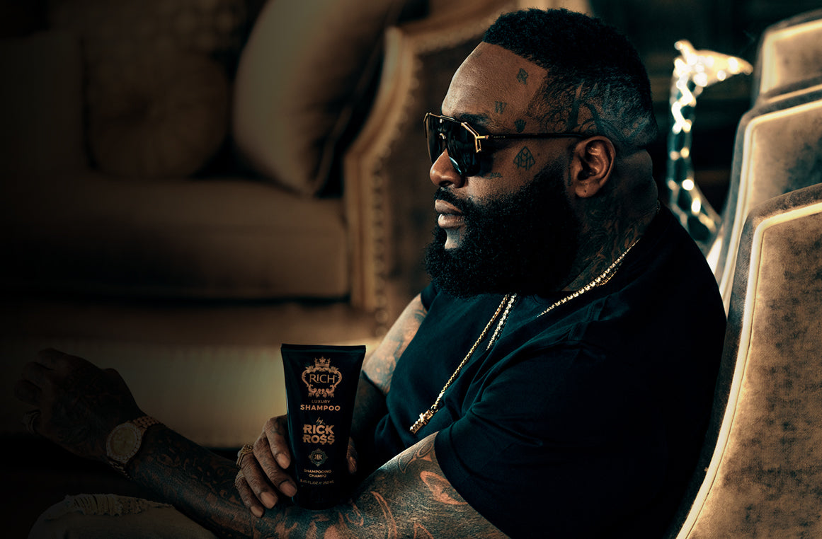 RICH by Rick Ross - The Best Hair & Beard Grooming Products $ Can Buy
