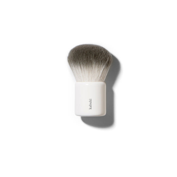 Eco Vegan Kabuki Brush - Green Core Naturals