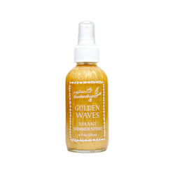 Golden Waves Sea Salt Shimmer Spray - Green Core Naturals